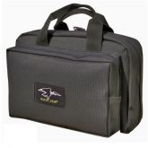 Deluxe Pistol Case - Holds Three Handguns with Eight Magazine Pouches