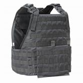 Modular Armor Plate Carrier Vest and Cumberbund 10x12 Plate Black