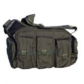 Tactical Response Bailout Bag with Rifle Mag Pouches - Black - Galati