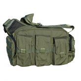 Tactical Response Bailout Bag with Rifle Mag Pouches - Olive Drab OD