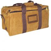 Leather Pro Shooters Bag with Inside Sherpa Lining - Bagmaster