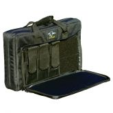 Double Discreet Square Rifle Case - 22 Inch - MP5 UZI - Black - Galati