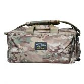 Super Range Bag with Pistol Magazine Holders - Multi Camo ACU Design